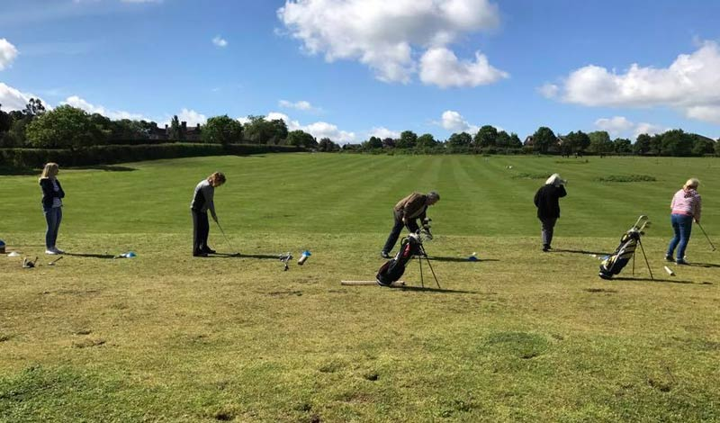 Adult Golf Group Lessons, Suffolk, Essex