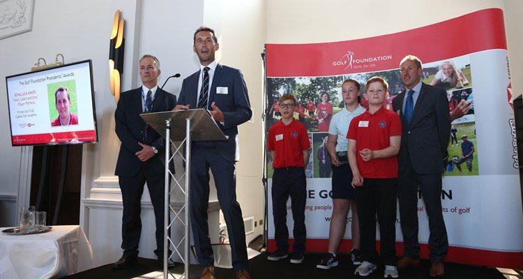 CGA win The Golf Foundations Bonallack Award