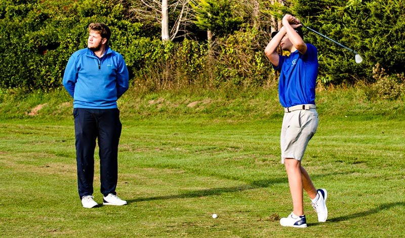 Private Junior Golf Lessons, Norfolk
