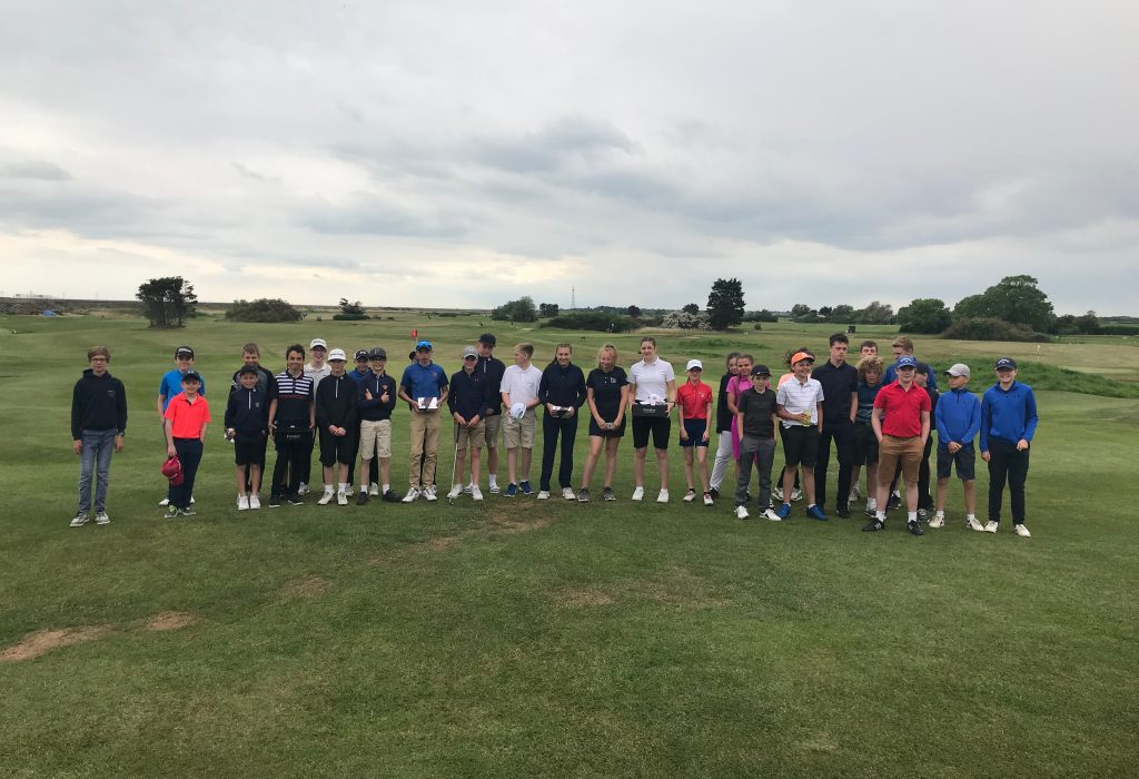 Successful Junior Open at Frinton Golf Club