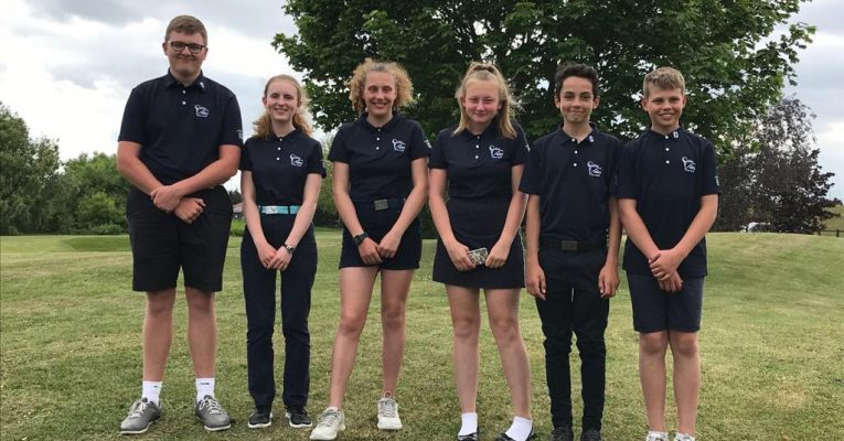 Colne Valley Juniors perform well at the Faldo Wedge