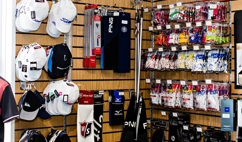 Coastal Golf Store - In Store