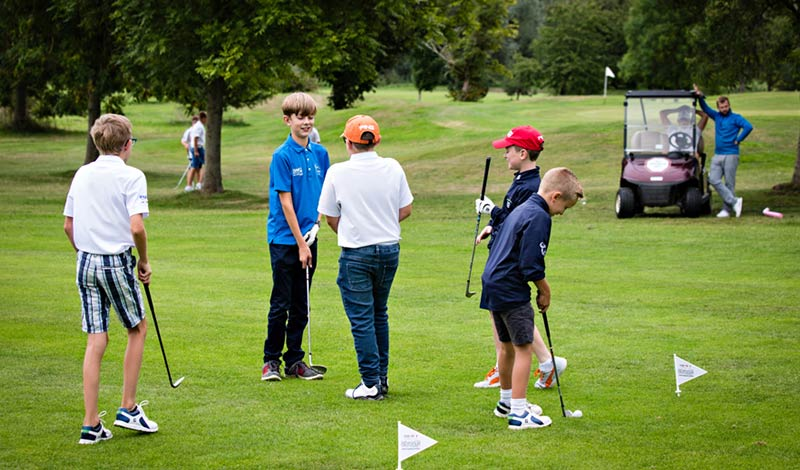 School Golf Training - Coastal Golf Academy