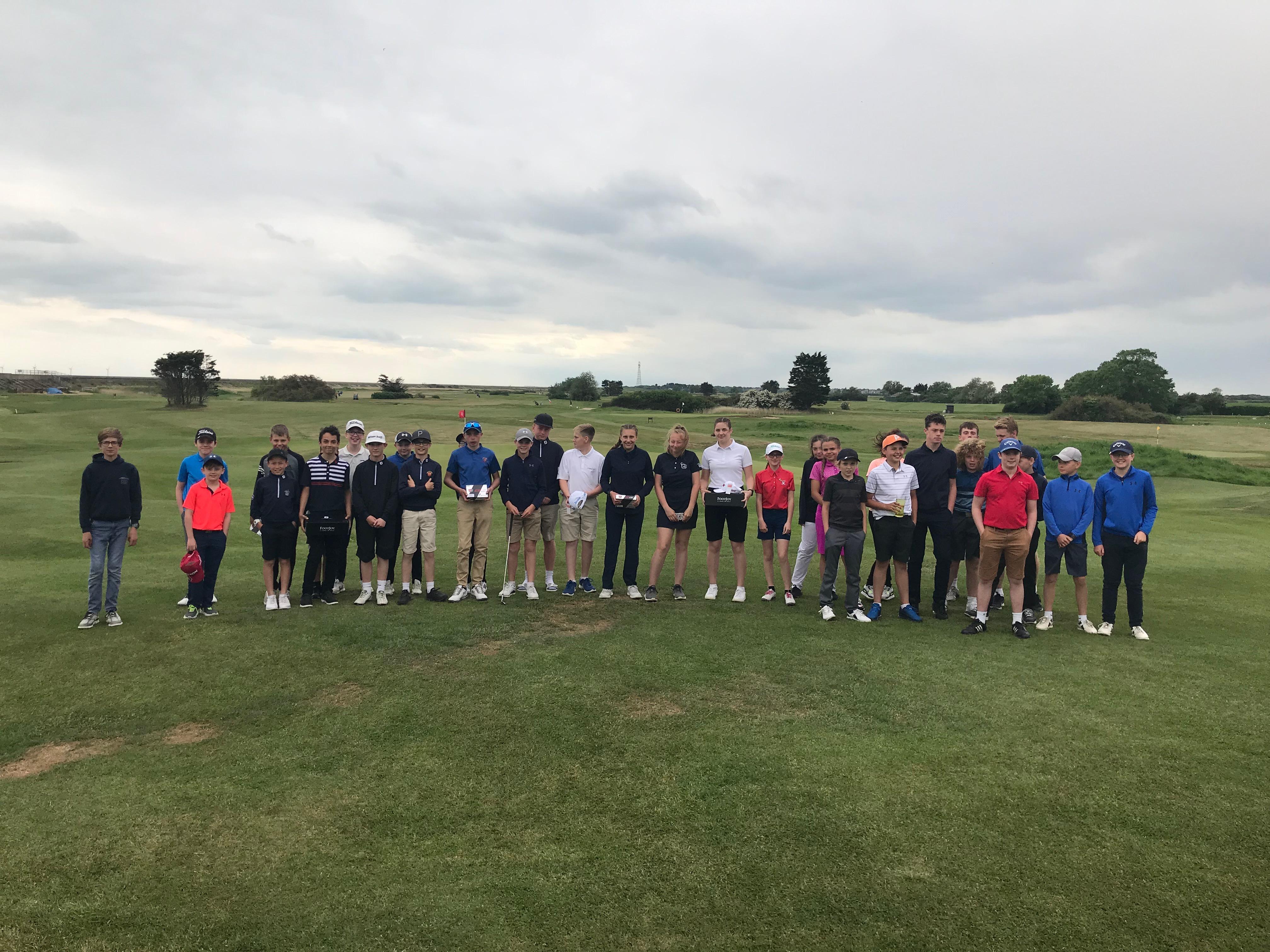 Successful Junior Open at Frinton Golf Club