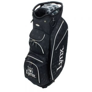 !SALE! Lynx Prowler by OUUL Black Superlight Cart Bag