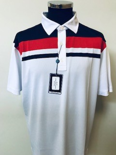 !Clearance! Footjoy Smooth Pique Colour Block Shirt