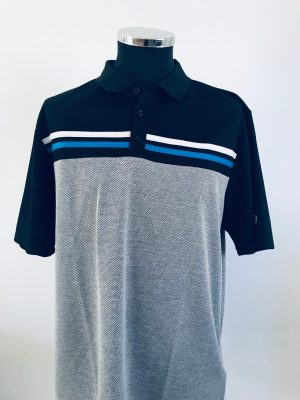 !Clearance! Island Green Laid on Stripe Polo Shirt