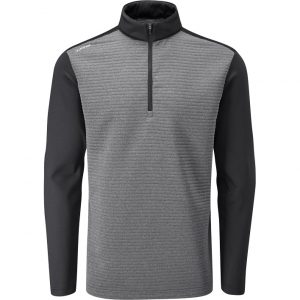 Men's Ping Phaser Mid Layer (Asphalt Marl/Black)