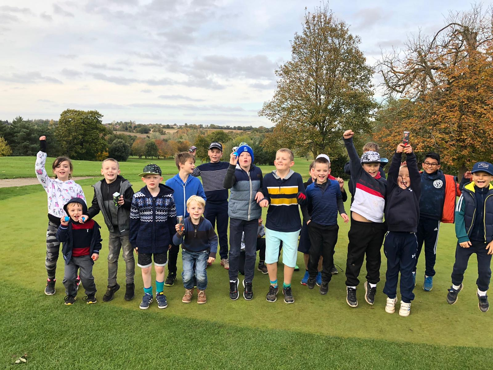Spooktastic Golf Camps enjoyed by record numbers