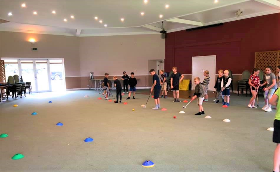 Kids fun golf sessions at Earls Colne Recreation Club