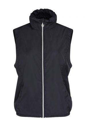 SS20 Swing Out Sister Antigua Packable Gilet (navy)