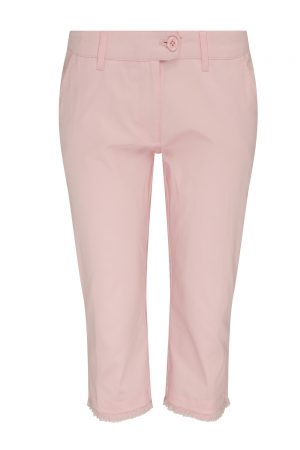 SS20 Swing Out Sister Crete Cotton Satin Capri (heavenly pink)