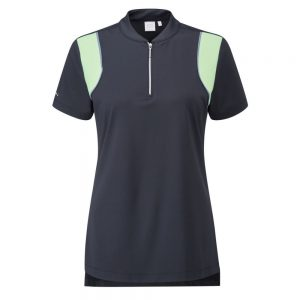 Women's Ping Bliss Polo (navy/mint)