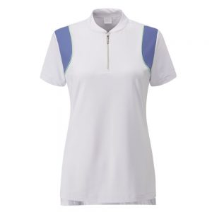 Women's Ping Bliss Polo (white/denim)