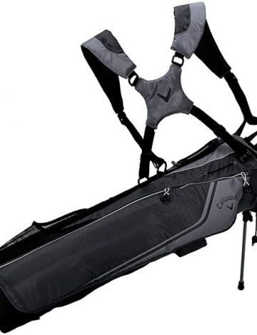 2020 Callaway Carry+ Double Strap Stand Bag – Black