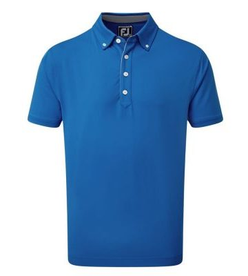 New 2020 FJ Lisle Solid with Contrast Trim and Button Down Collar Shirt