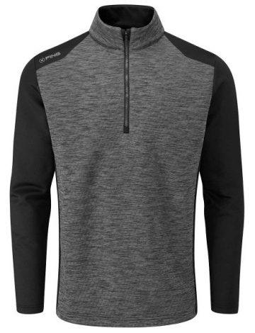 Men's Ping Mellor Half Zip Fleece Top – Asphalt Marl