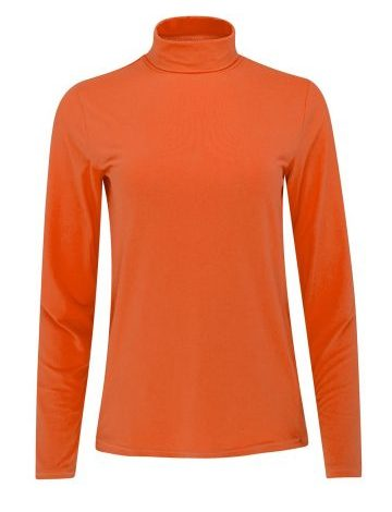 SOS Cassie Roll Neck (Living Coral)