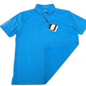 Men's Stuburt Tech Polo Shirt Size Large – Bondi Blue