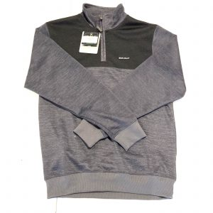 Men's Stuburt 1/2 Zip Top Size Small – Grey Marl