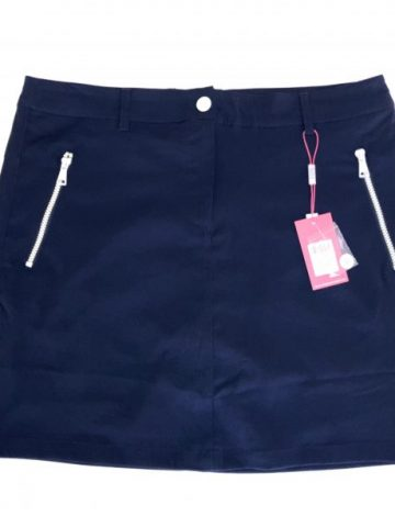 Women's Swing out Sister Corfu Core Collection Dry Fit Skort Size 16 – Navy