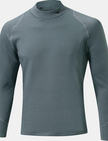 Men's Mizuno Breath Thermo Biogear Base Layer – Grey