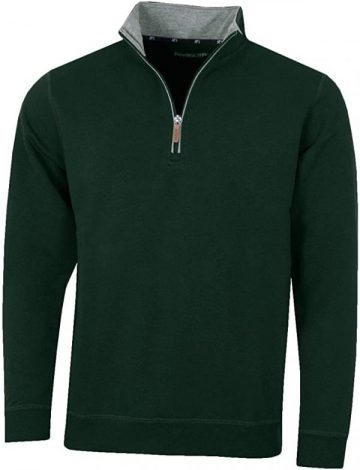 Men's Pro Quip Frinton Golf Club Crested Mistral Jersey Top – Green